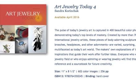 Joyeros argentinos seleccionados en Art Jewelry Today