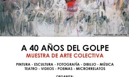 Joyeros Argentinos en muestra colectiva de arte en Ex ESMA