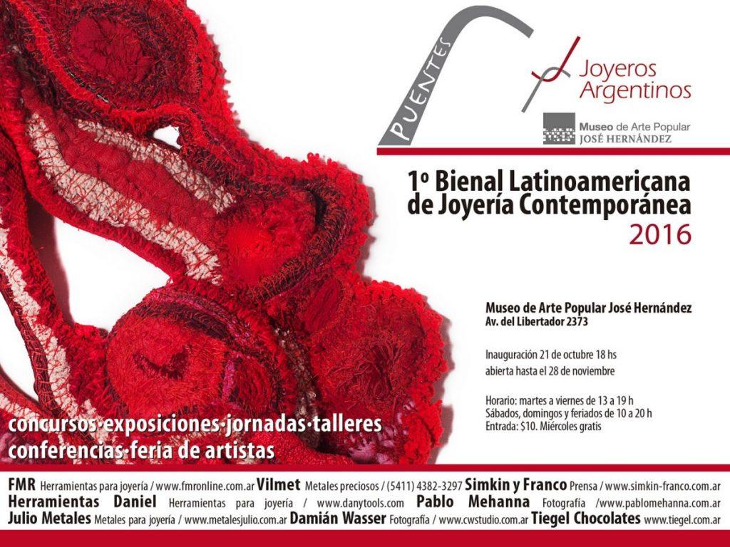 af39648c4f0b INAUGURACION  1º Bienal Latinoamericana de Joyería Contemporánea «Puentes».  Posted by Joyeros Argentinos ...