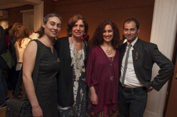 Liliana Ojeda, Paula Isola, Laura Giusti, Caco Honorato