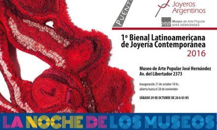 ¡¡¡Visitá la Bienal en la Noche de los Museos!!!