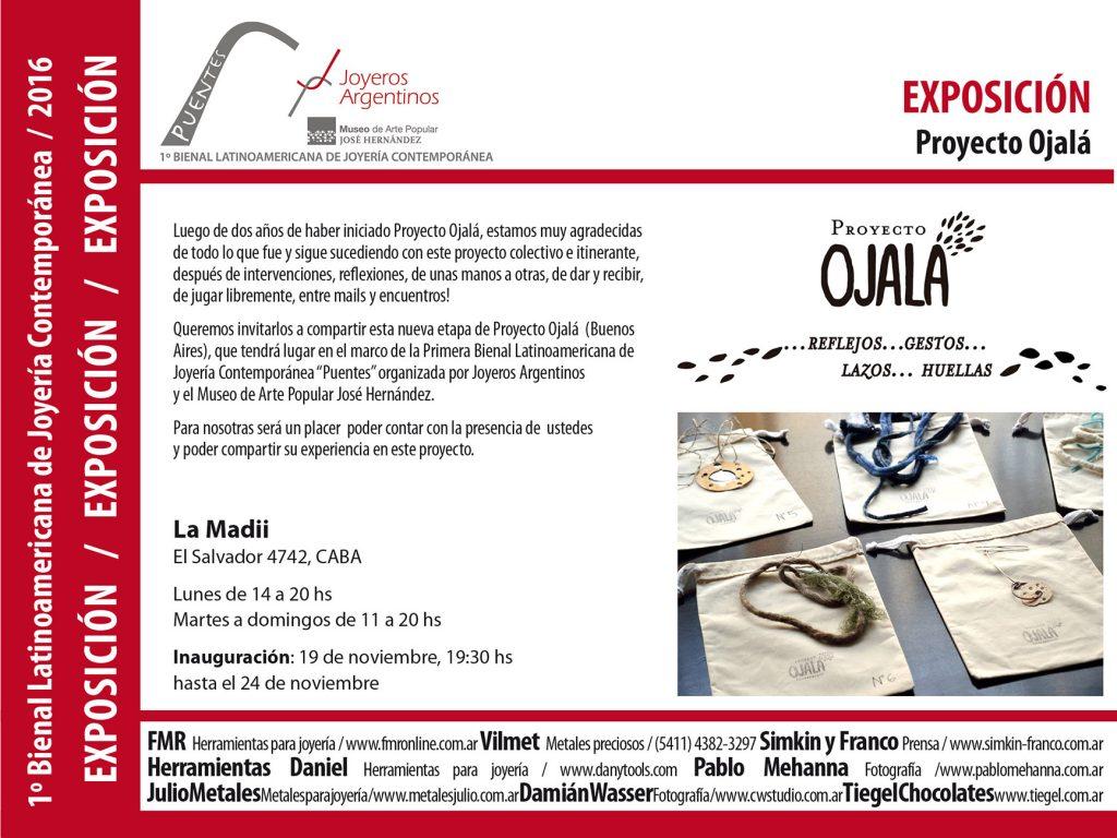 Proyecto Ojalá: exposición en el marco de la Bienal - Joyeros Argentinos