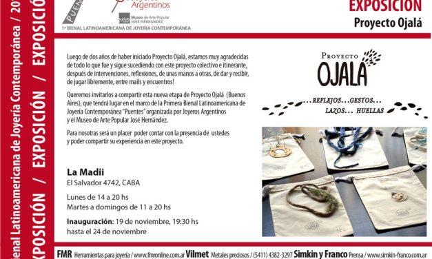 Proyecto Ojalá: exposición en el marco de la Bienal