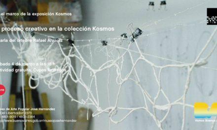 Charla «El proceso creativo en la colección 'Kosmos' «, a cargo de Rafael Alvarez