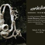 Workshop de bordado tridimensional a cargo de Jessica Morillo, en Estudio Joya
