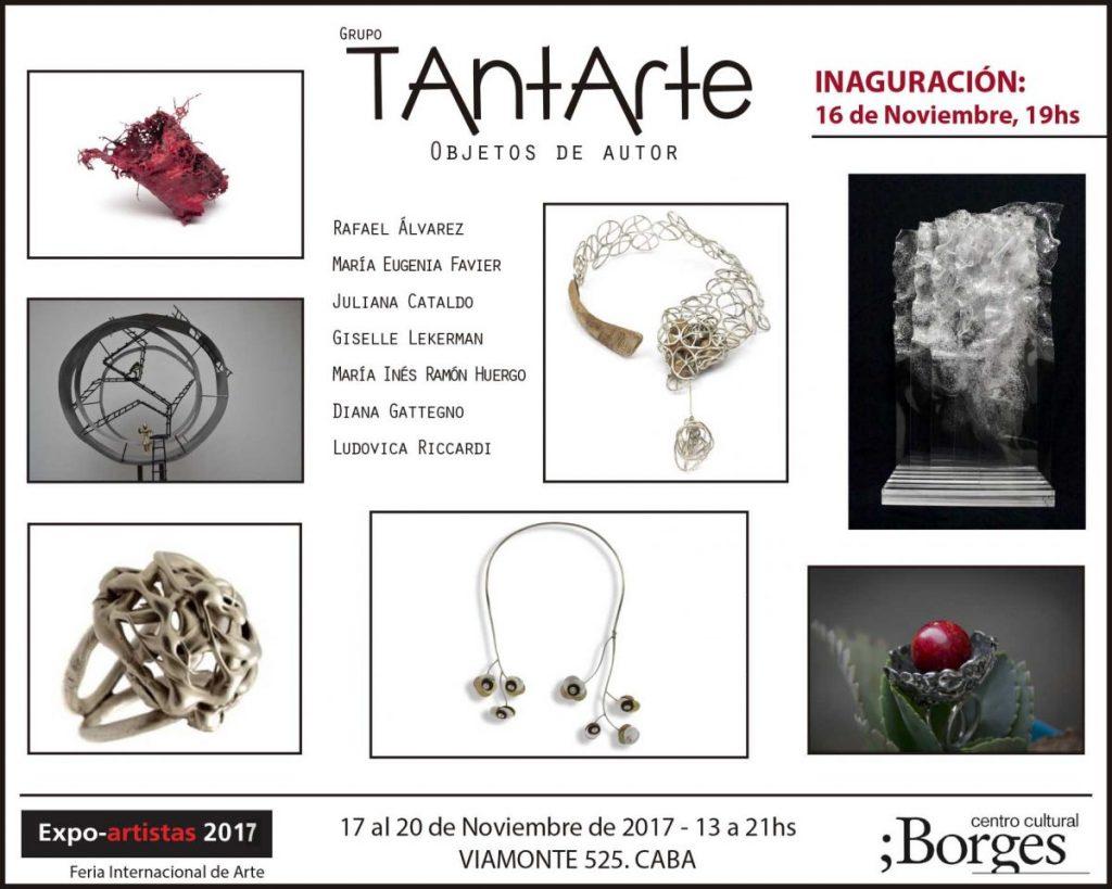 Expo del grupo TANTARTE en el Borges