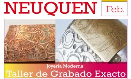 Taller intensivo de grabado exacto en Neuquén, a cargo de Florencia Gargiulo