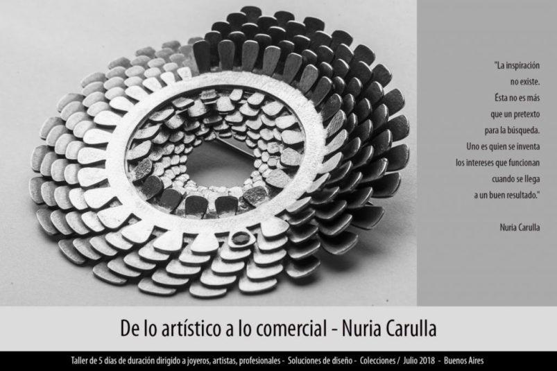 Taller de Nuria Carulla en Buenos Aires