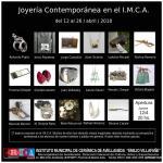 Exposición de Joyería Contemporánea en el IMCA