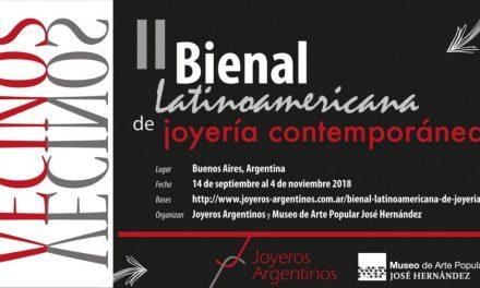 Convocatoria II Bienal Latinoamericana de Joyería Contemporánea: becas de participación