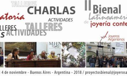 Convocatoria: proyectos de conferencias y talleres a realizarse en el marco de la Bienal