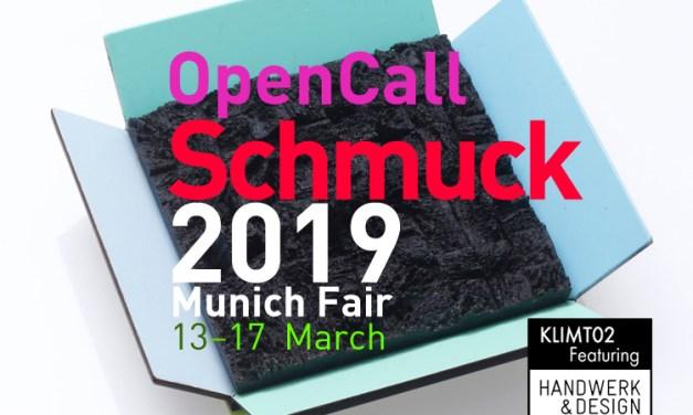 Convocatoria: Schmuck y Talente 2019