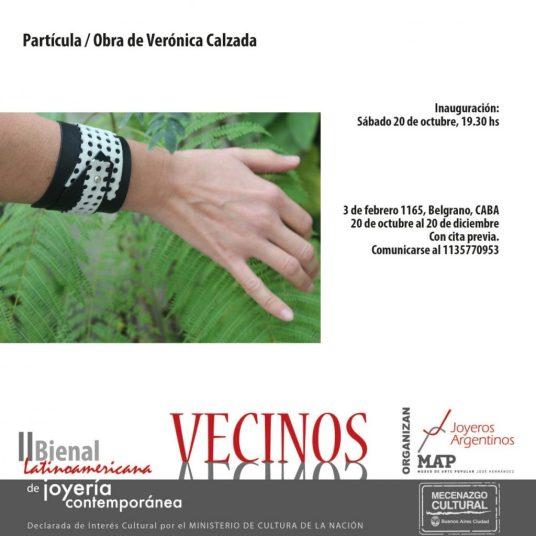 """Expo """"Partícula"""", de Verónica Calzada"""