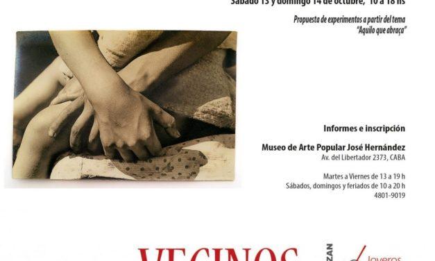 """Bienal 2018: Workshop """"Aquello que abraza"""", a cargo de Miriam Pappalardo y Renata Porto"""