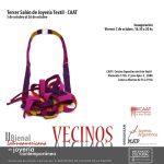 Bienal 2018: cambio de fecha de recepción de obra para el CAAT – III Salón de Joyería Textil