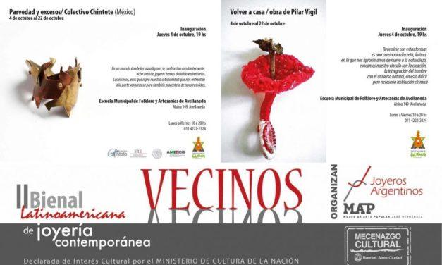 Fe de erratas: horario de las expos de Chintete y Pilar Vigil