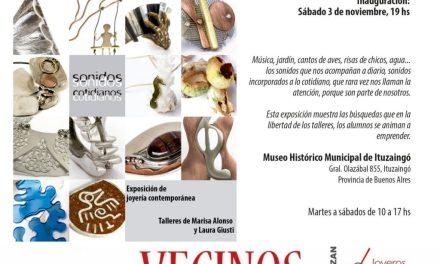 Bienal 2018: hoy a las 19, inauguración de «Sonidos cotidianos», expo de los talleres de M. Alonso y L. Giusti en Ituzaingó