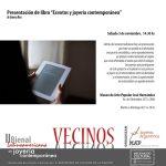 """Bienal 2018: Presentación del libro de Jimena Rios """"Exvotos y joyería contemporánea"""""""