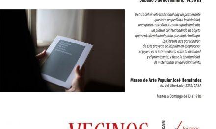 Bienal 2018: Presentación del libro de Jimena Rios «Exvotos y joyería contemporánea»