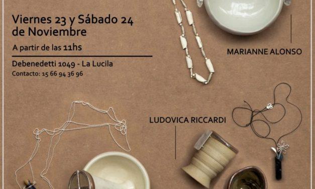 Diálogos, muestra de Ludovica Riccardi, Juliana Cataldo y Marianne Alonso
