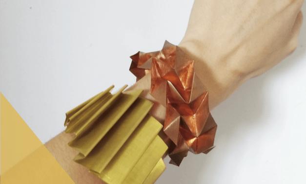 Taller de joyas plegadas, a cargo de Camila Antonini