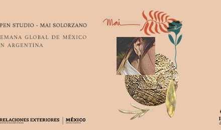 Coctel y taller abierto de Mai Solorzano