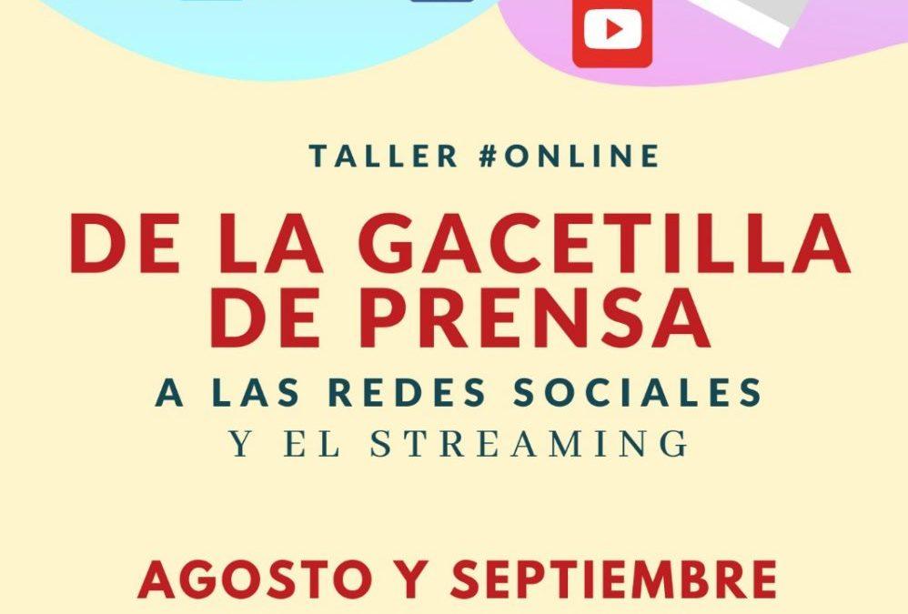 Seminario: Comunicación cultural y prensa en tiempo de redes y streaming.