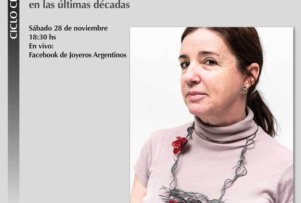 Sábado 18 hs: Hebe Argentieri habla de la joyería contemporánea de las últimas décadas