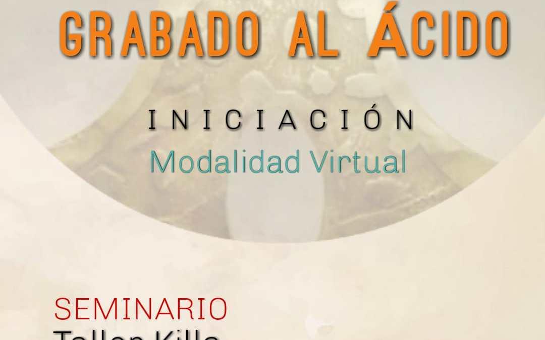 Seminario de grabado al ácido (online), a cargo de Luna Ventura