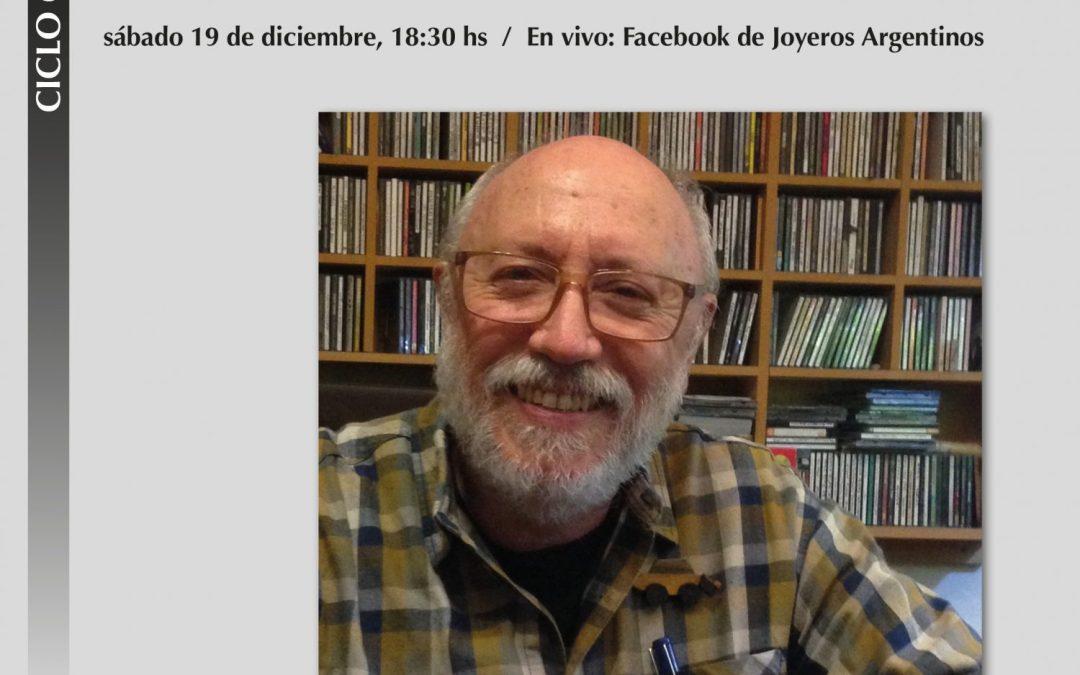 Conversatorio con Jorge Castañón: la joyería contemporánea, la vida