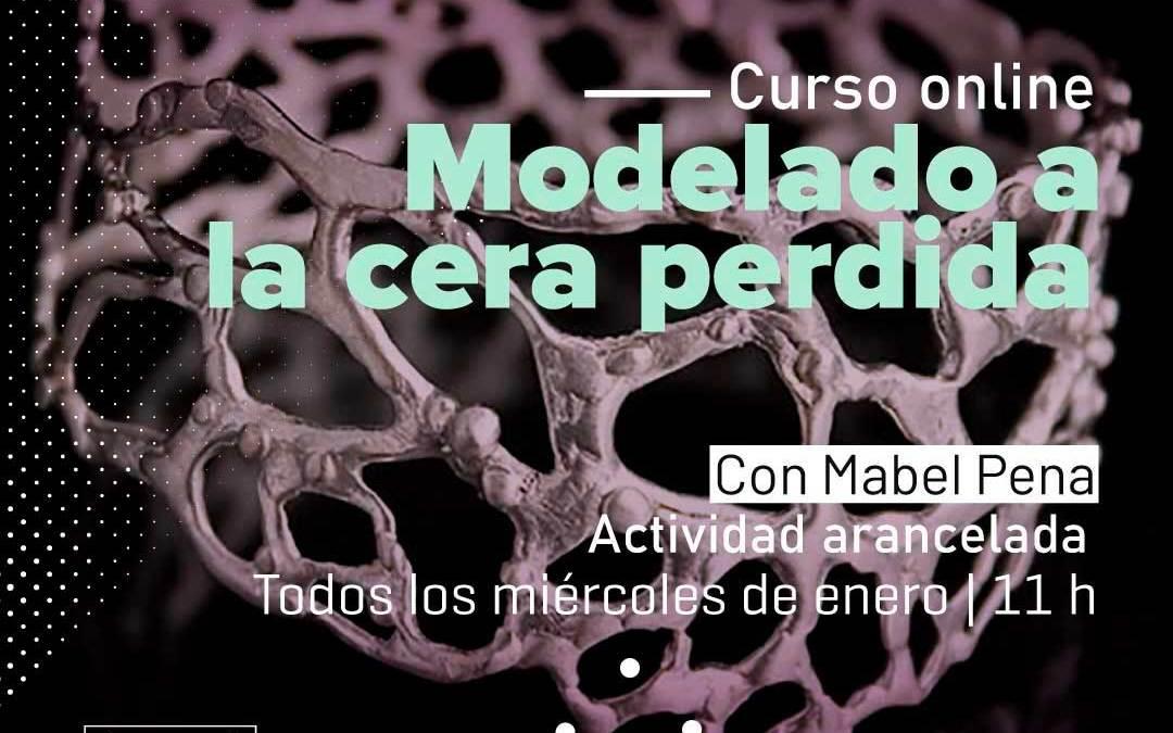 Enero: Curso online de cera perdida, con Mabel Pena
