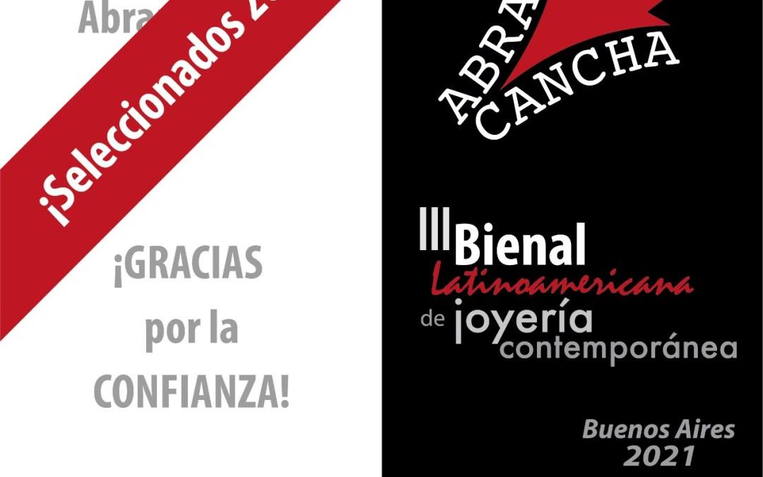 Seleccionados del concurso Abran Cancha, III Bienal, 2021