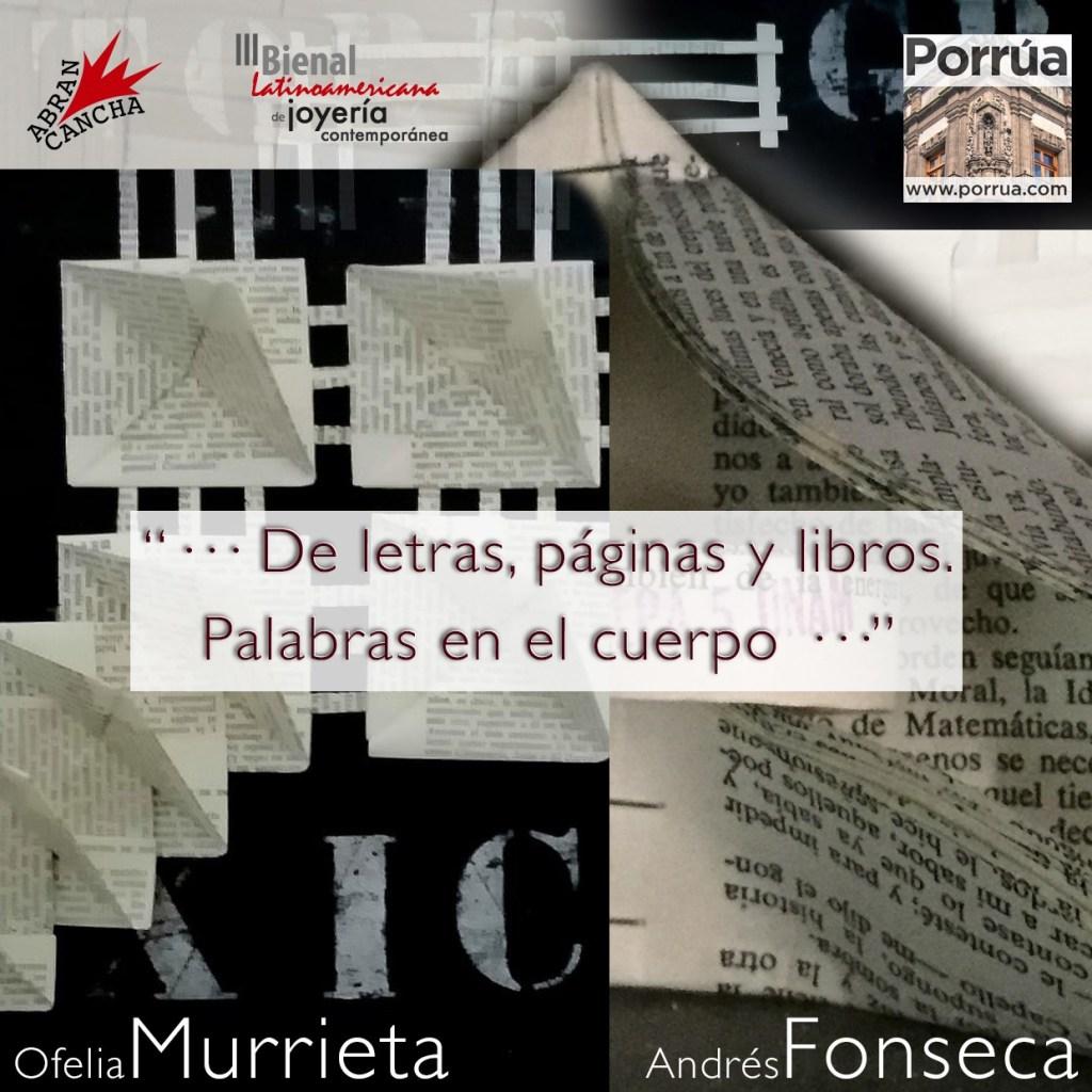 Exposición Ofelia Murrieta - Andrés Fonseca