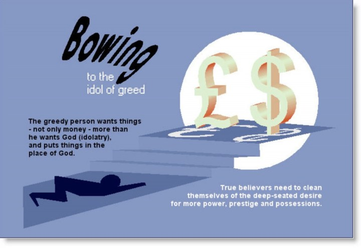 Bowing to Greed