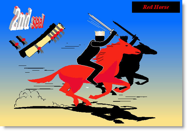 Seal 2 (red horse)