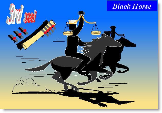 Seal 3 (black horse)