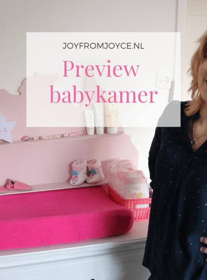 Preview babykamer
