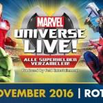 WIN: 4 tickets voor Marvel Universe live
