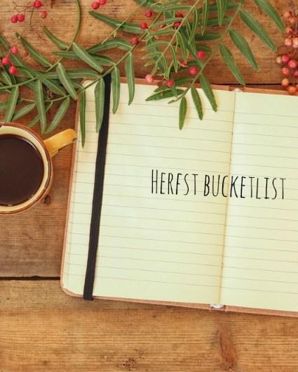 Herfst bucketlist