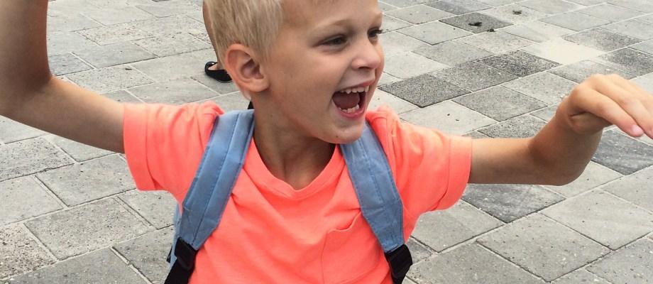 Moments of joy #29 – De laatste schoolweek