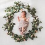 Het geboortekaartje van Fleur