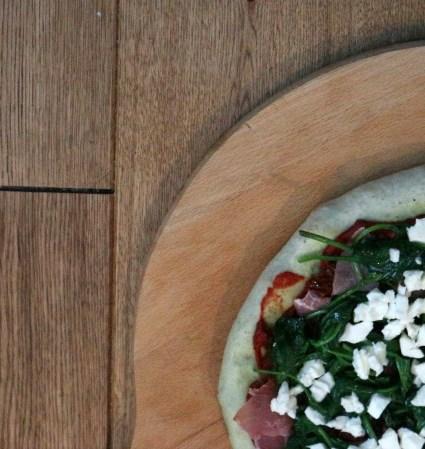 Hoe ik mijn magioni courgette pizza het liefst beleg