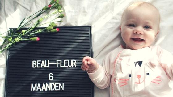 Fleur 6 maanden!
