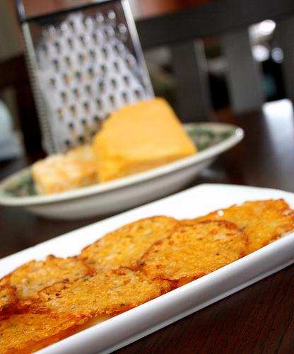 Cheese crisps