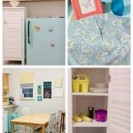 Montessori Toddler Kitchen And Mini Fridge Makeover Joyful Abode