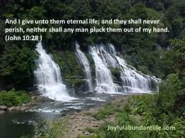 9 John 10 28