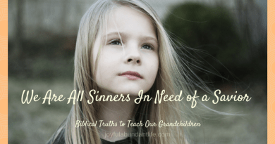 We are all sinners in need of a Savior