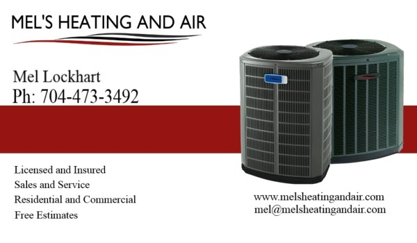 Schedule an appointment with your HVAC man