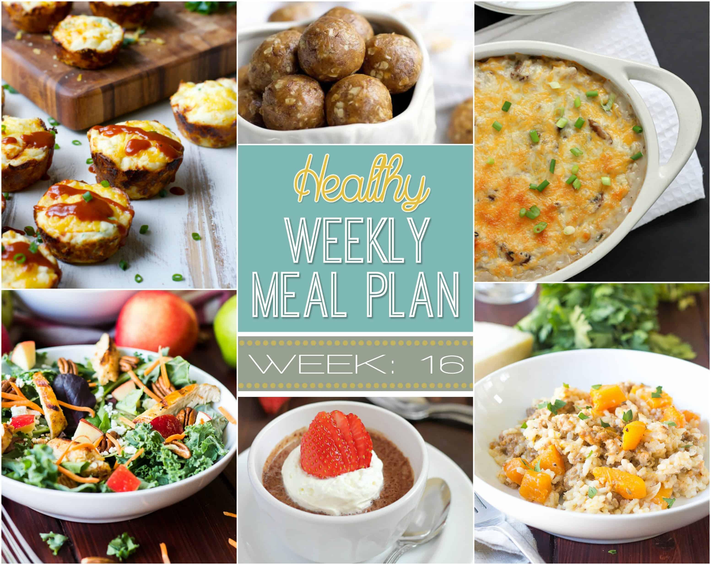 Healthy Meal Plan Week 16 Easy Dinner Ideas