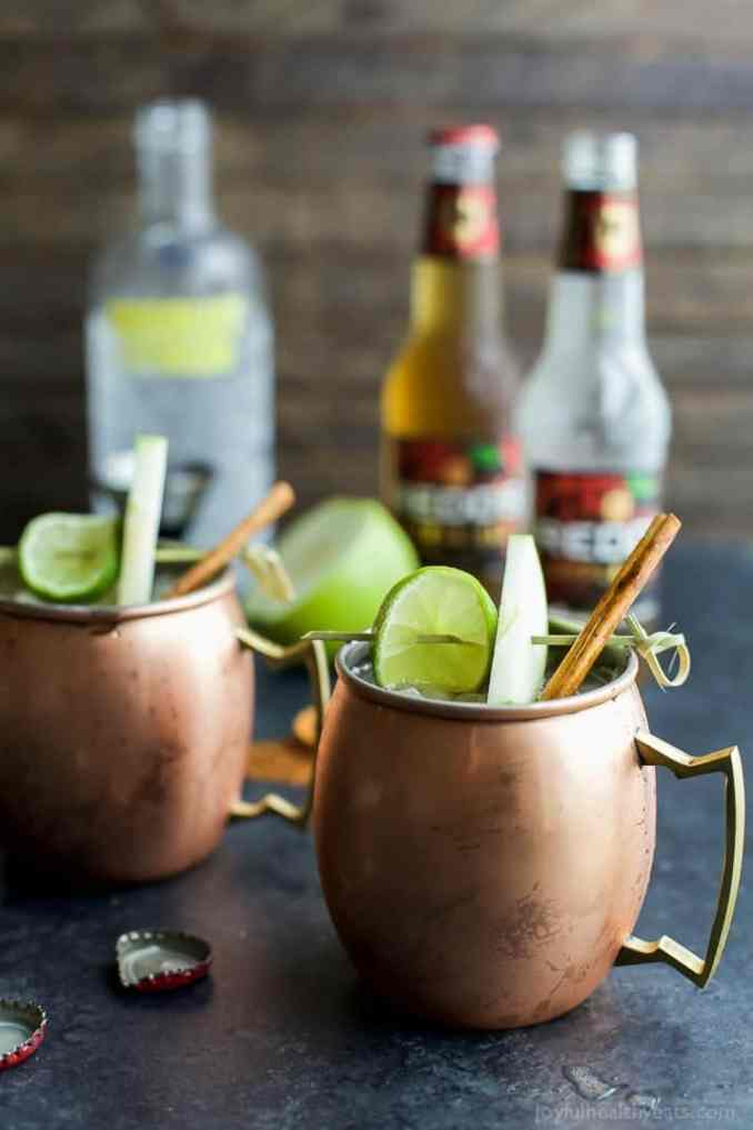 Apple Cider Moscow Mule | Easy Healthy Recipes Using Real